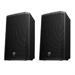 2 x EV Electro-Voice ZLX-15P 2000W Active Powered PA Speaker ZLX15P 3Yr Warranty